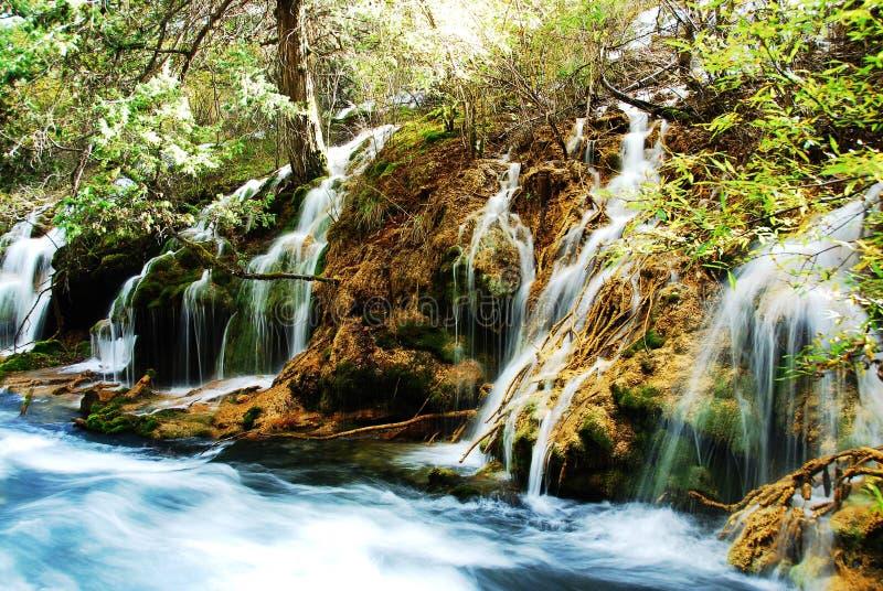 Água em Jiuzhai fotografia de stock royalty free