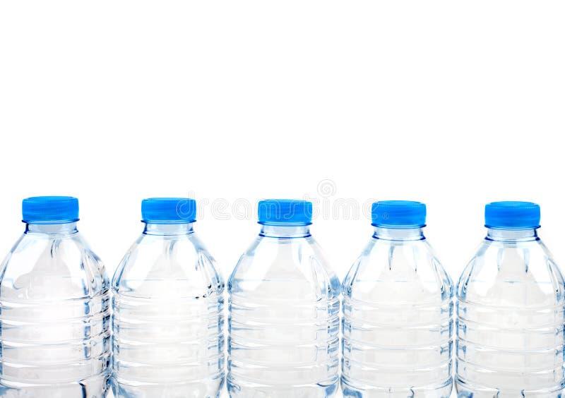 Água engarrafada foto de stock