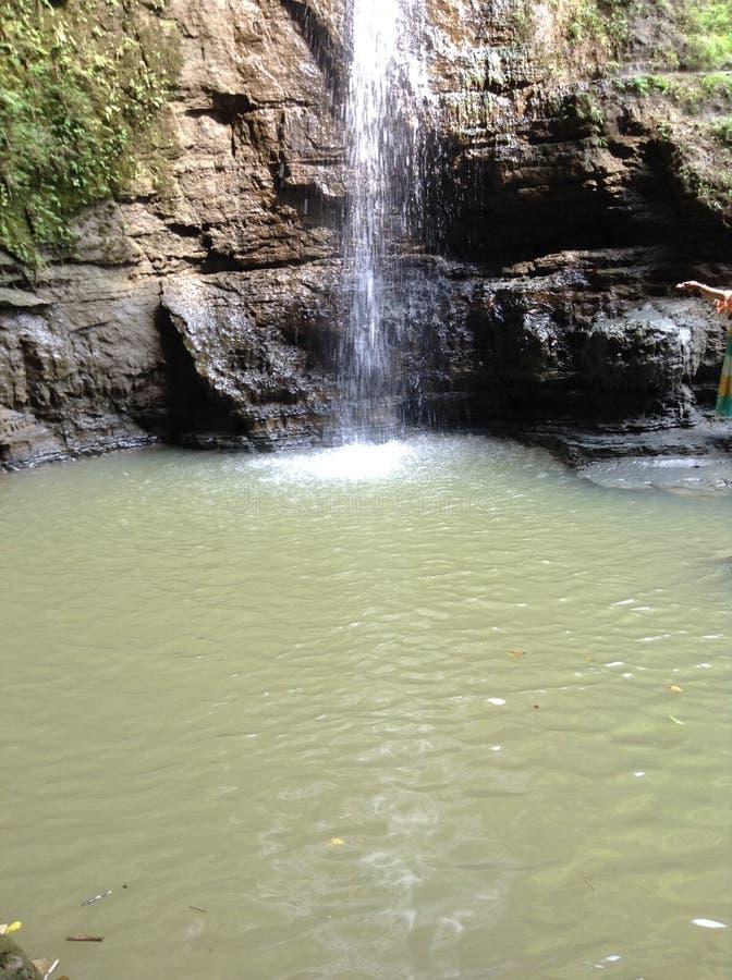Água Falls-04 de Himchhari fotos de stock royalty free