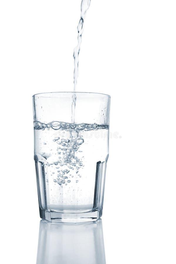 Água fresca (trajeto de grampeamento) imagens de stock