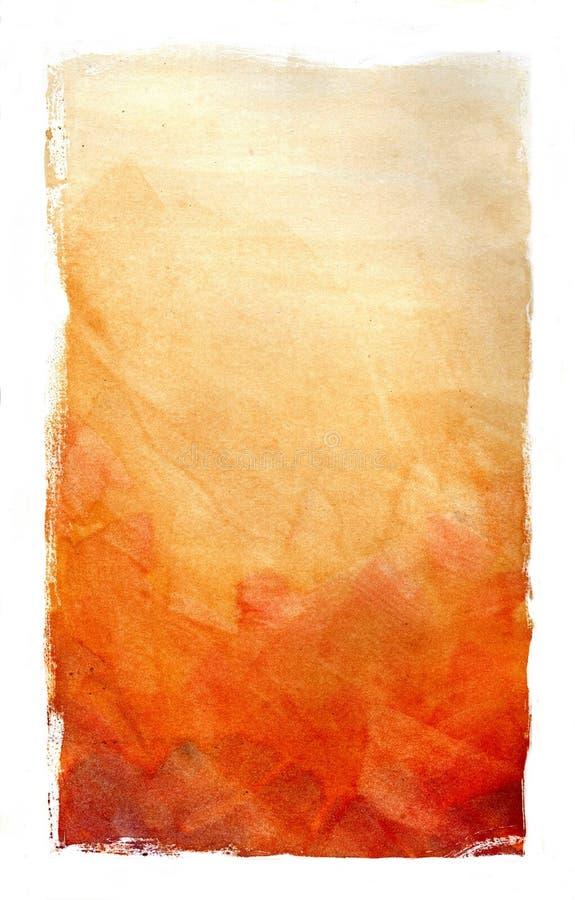Água - fundo da cor ilustração stock