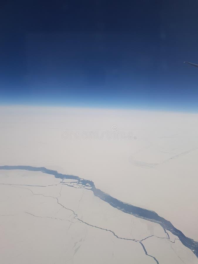 Água, gelo, a Antártica imagem de stock royalty free