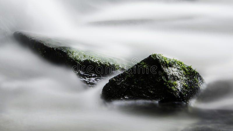 Água longa da exposição fotos de stock