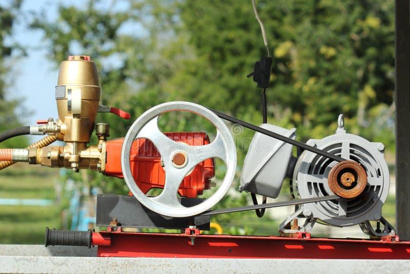 Água móvel da bomba de fogo imagens de stock