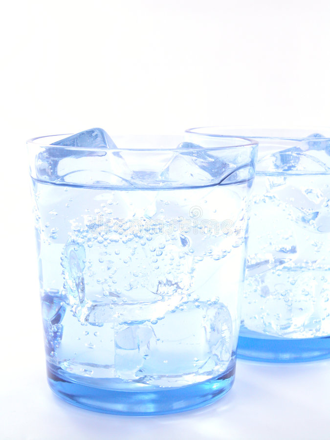 Água mineral imagem de stock