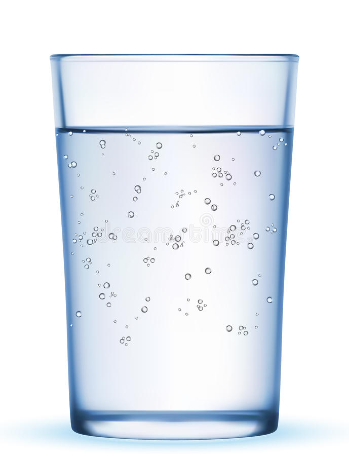 Água mineral ilustração stock