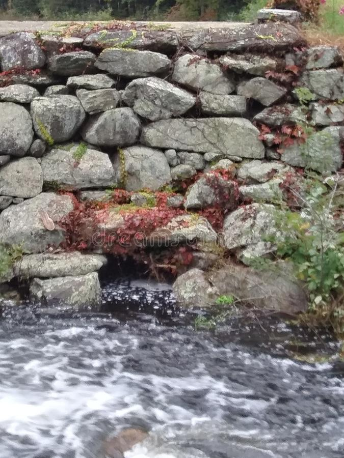 Água movente imagem de stock royalty free