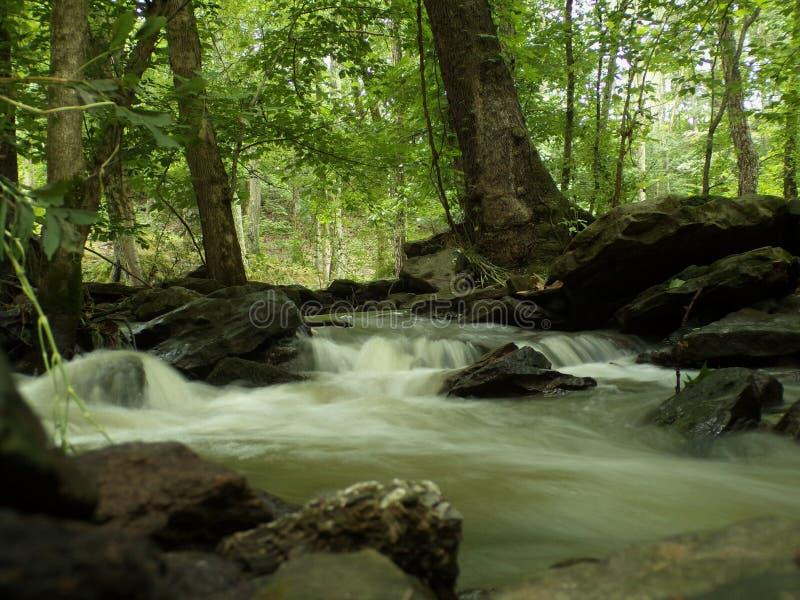 Água movente fotos de stock