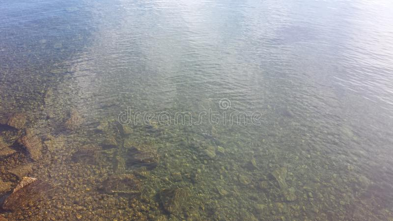 Água no lago Constance fotos de stock