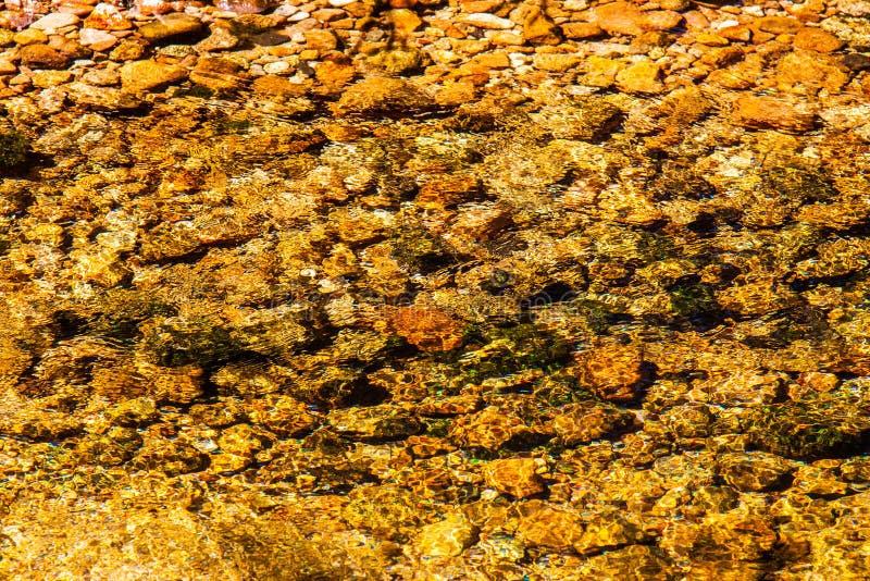 Água no parque nacional de Krkonose foto de stock royalty free