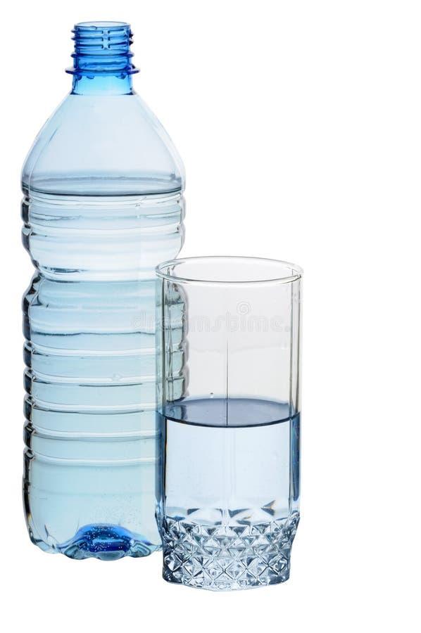 Água no vidro fotografia de stock royalty free
