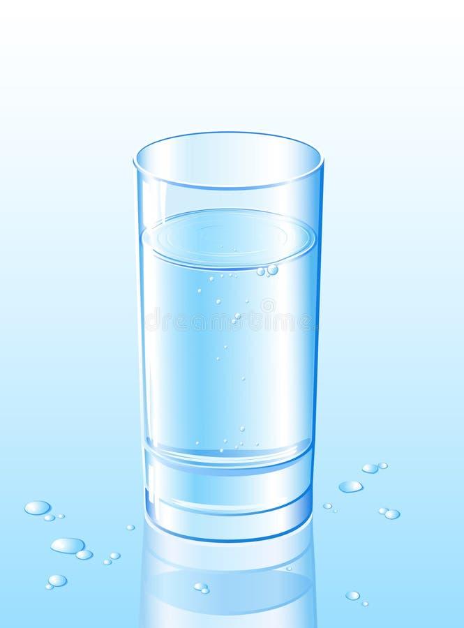 Água no vidro imagem de stock royalty free