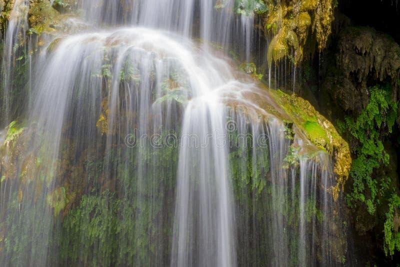 Água pura da fonte imagens de stock royalty free