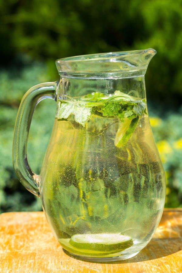 Água saudável da vitamina imagens de stock