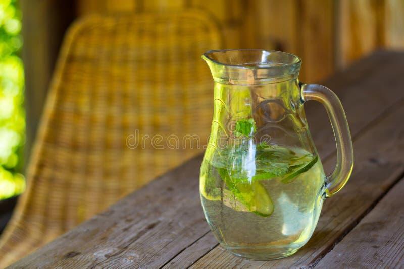 Água saudável da vitamina imagens de stock royalty free