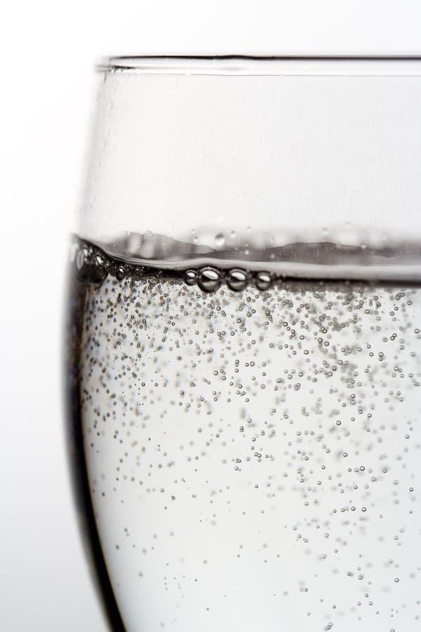 Água Sparkling fotografia de stock
