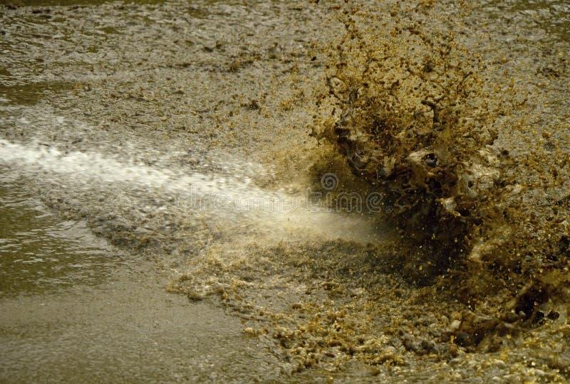Água suja foto de stock royalty free