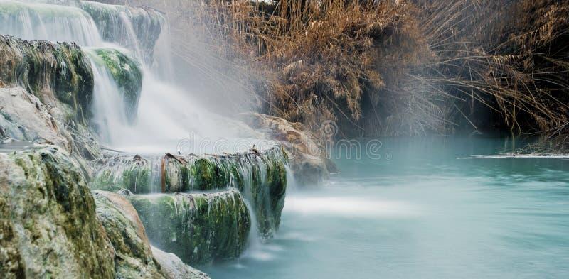 Água térmica para banhar-se. imagem de stock royalty free