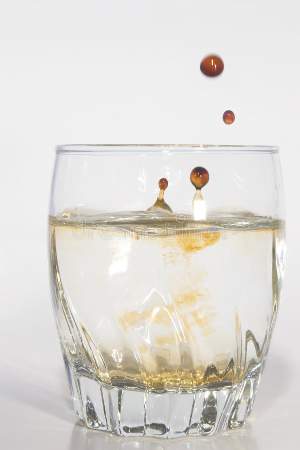 Água Tainted imagens de stock