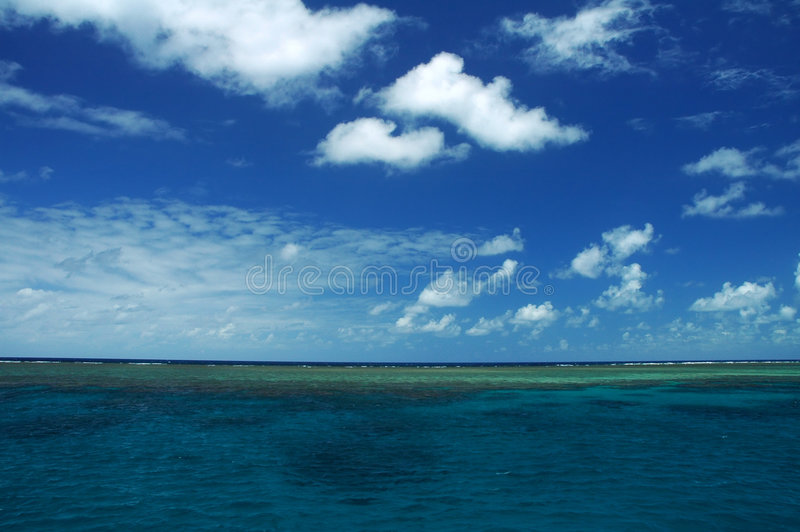 Água tropical foto de stock royalty free