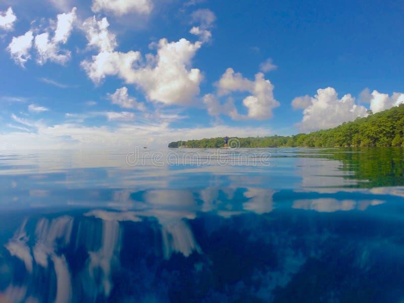 Água tropical fotografia de stock royalty free