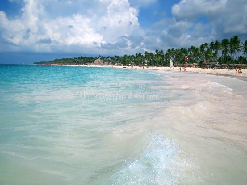 Água tropical da praia fotos de stock royalty free
