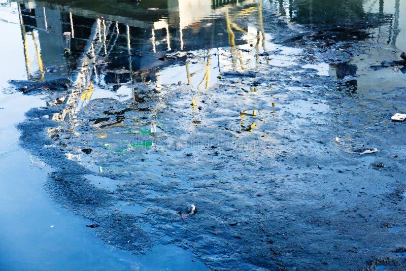 Água Waste imagem de stock