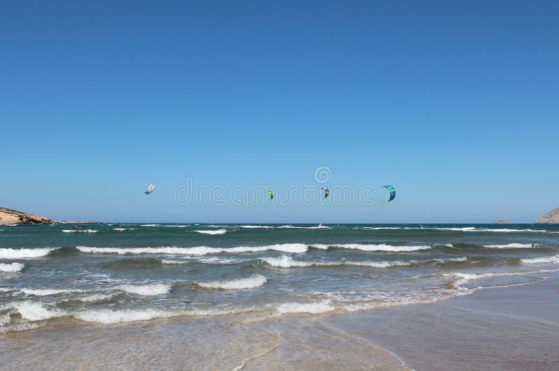 Água windsurfing  Conhecimento da natureza Pelos olhos da natureza  imagens de stock royalty free
