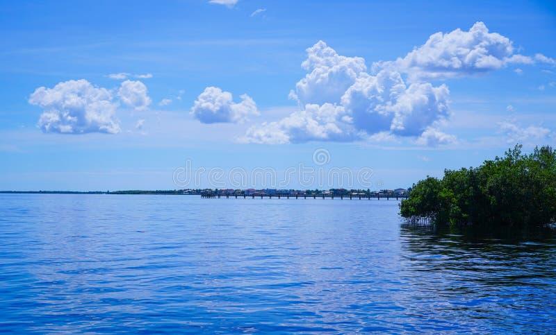 Águas azuis imagem de stock royalty free