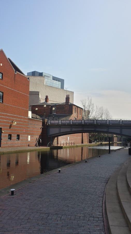 Águas de Birmingham fotos de stock royalty free
