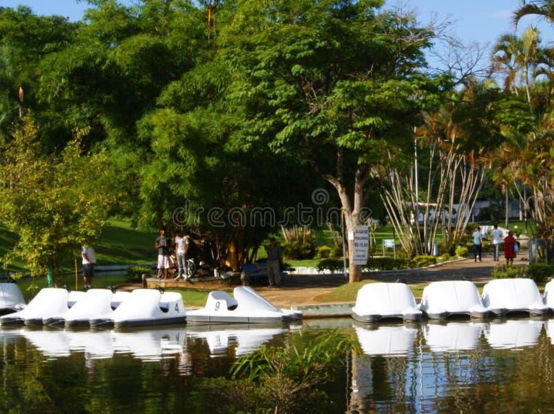 Águas de Lindóia São Paulo Brasil royalty free stock image