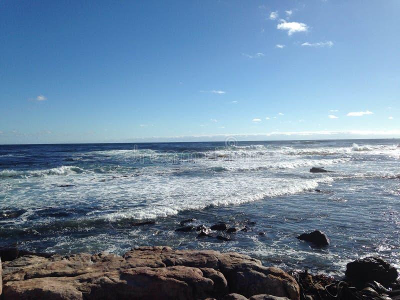 Águas do oceano foto de stock