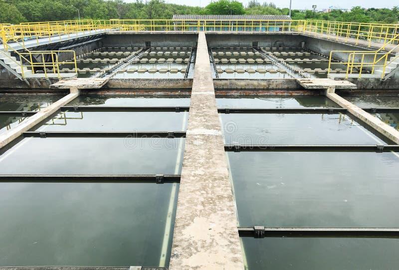 Águas residuais fotografia de stock