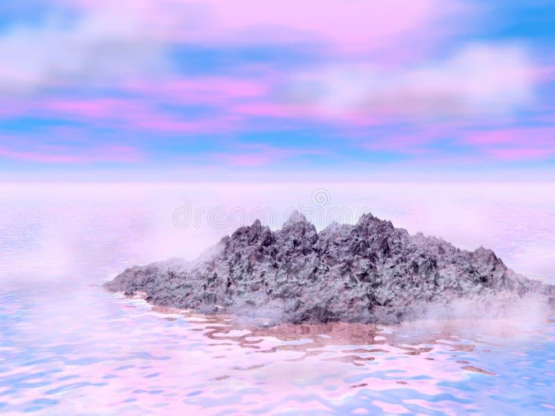 Águas sonhadoras 3 imagem de stock royalty free