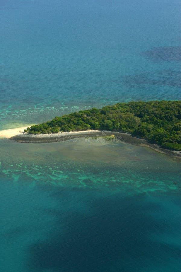 Águas tropicais imagens de stock