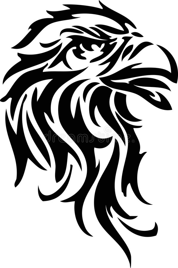 Águia ilustração royalty free
