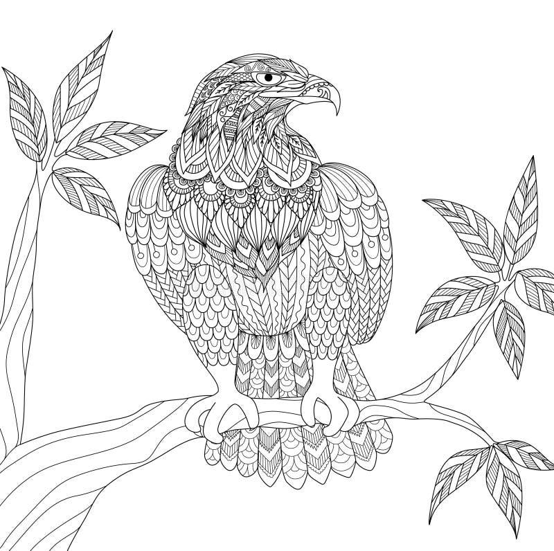 águia ilustração do vetor
