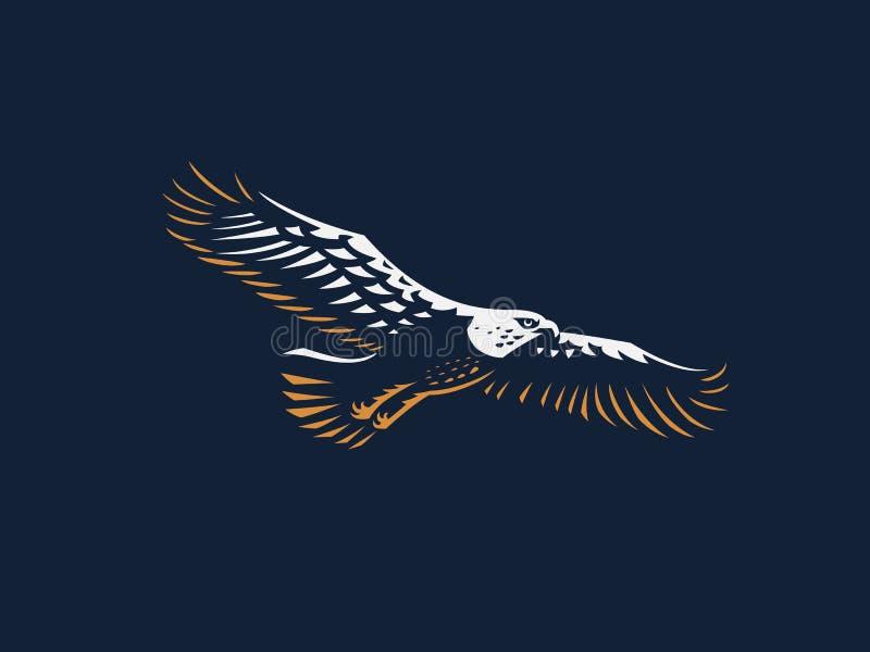 A águia do voo ilustração do vetor