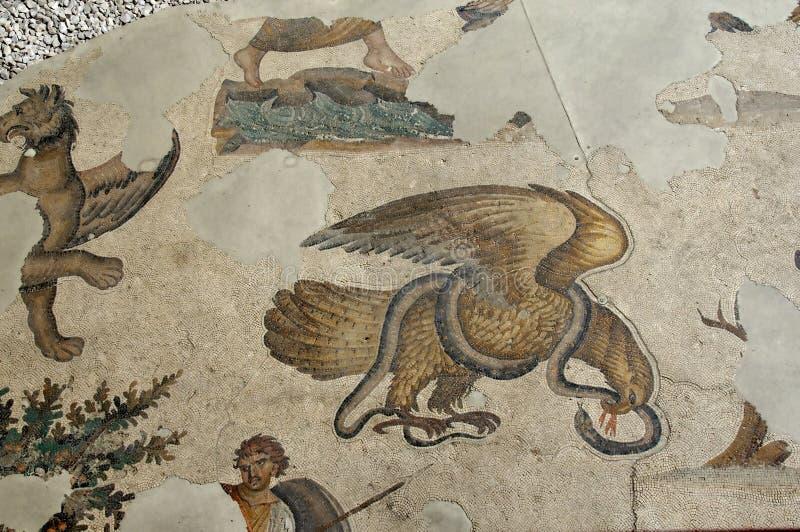 Águia e a serpente imagens de stock royalty free