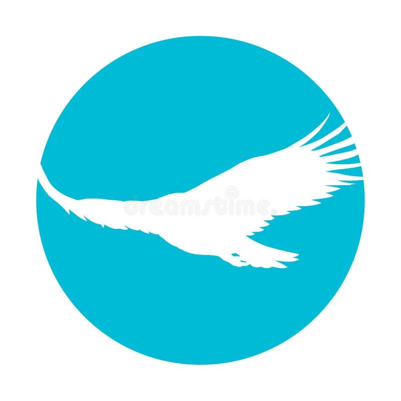 Águila altísima ilustración del vector