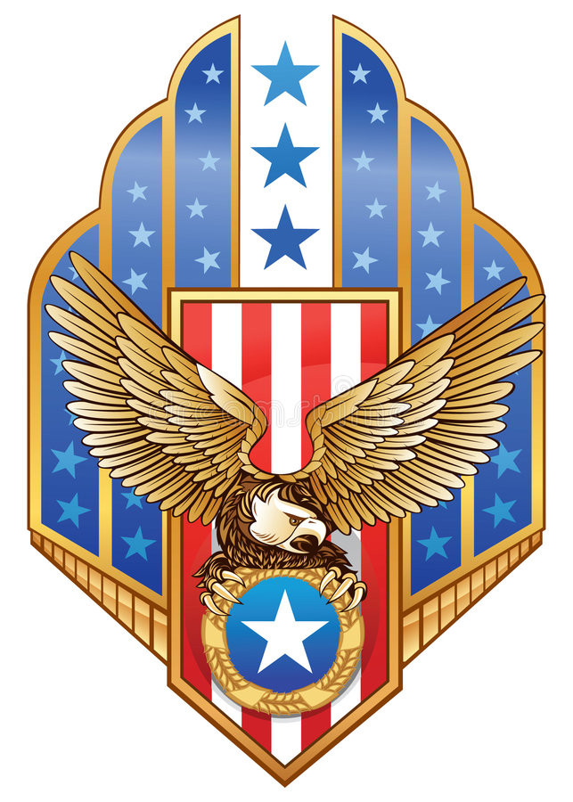 Águila americana libre illustration