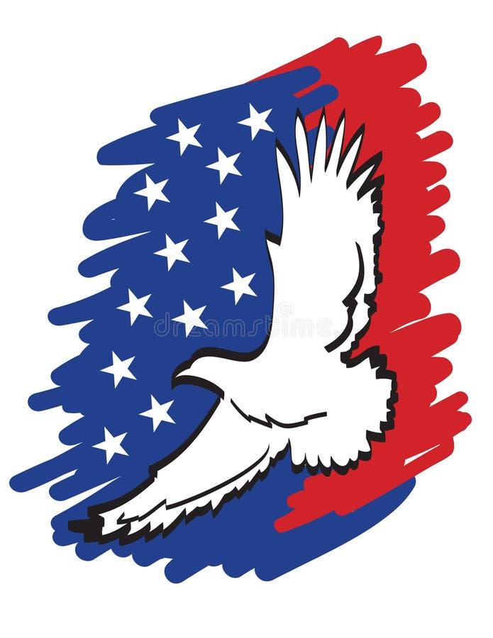 Águila americana imagenes de archivo