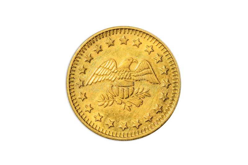 Águila de oro americana fotografía de archivo
