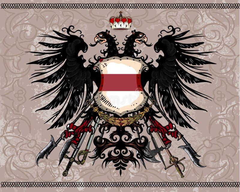 Águila heráldica libre illustration