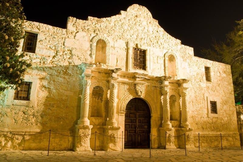 Álamo San Antonio Tejas imagen de archivo libre de regalías