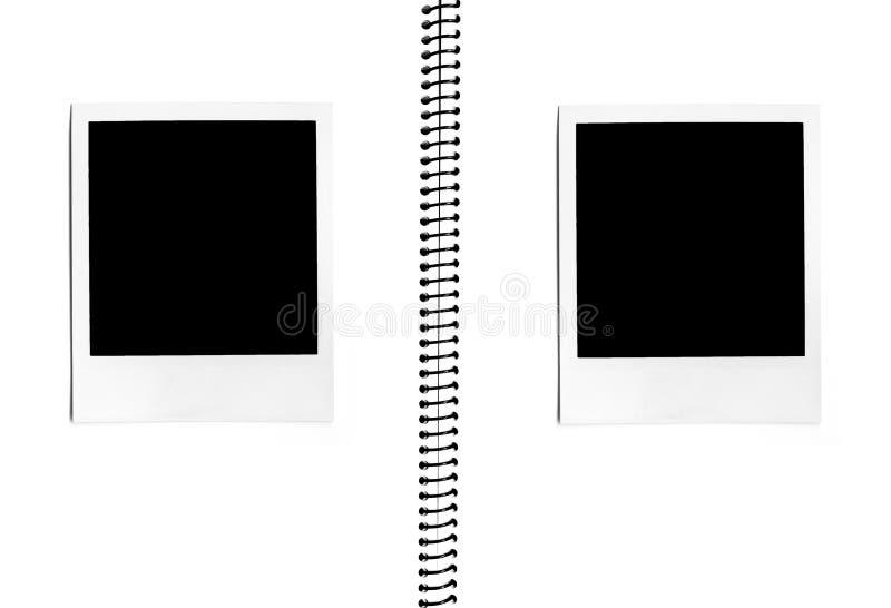 Álbum de foto imagens de stock
