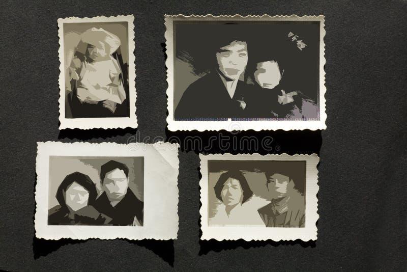 Álbum de foto fotografía de archivo