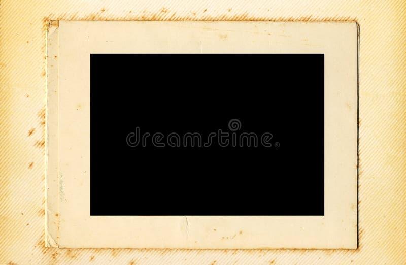 Álbum de foto de la vendimia foto de archivo