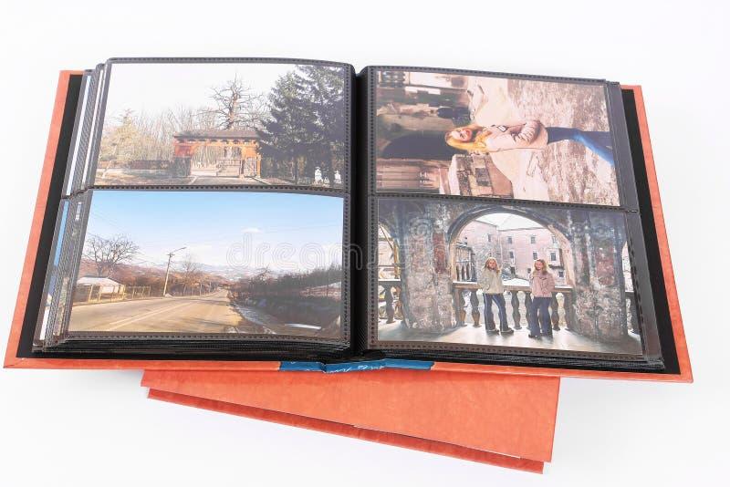 Álbum de foto isolado imagem de stock royalty free