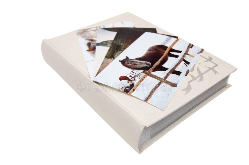 Álbum do retrato fotos de stock royalty free